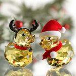 Swarovski_Happy_Ducks_Santa_and_Reindeer_5004497   The Crystal Lodge