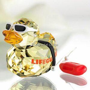 Swarovski_Lovlot_Happy_Ducks_Lifeguard_Duck_1143443   The Crystal Lodge
