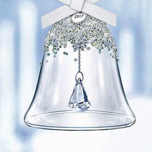 Swarovski Christmas ornaments - Bell single and sets