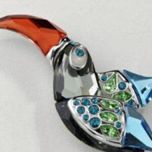 Swarovski Crystal Paradise - Bird brooches