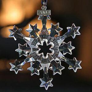 Swarovski Christmas ornaments - annual clear