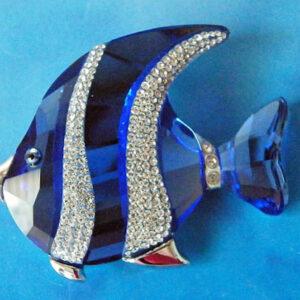 Swarovski Crystal Paradise - Fish and south sea brooches