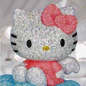 Swarovski Crystal Myriad Gallery - Sanrio Hello Kitty