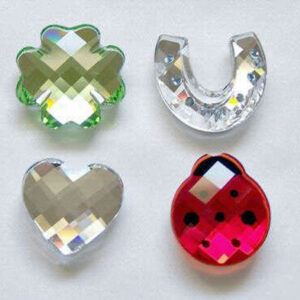Swarovski Crystal Moments / Sparkling Treasures - Magnets and Stickers