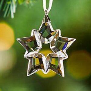 Swarovski Christmas ornaments - annual clear little